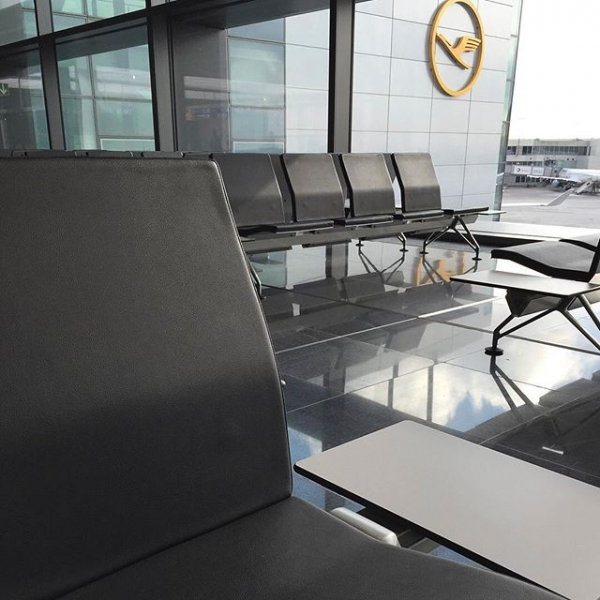 Frankfurt Airport Vitra Seating