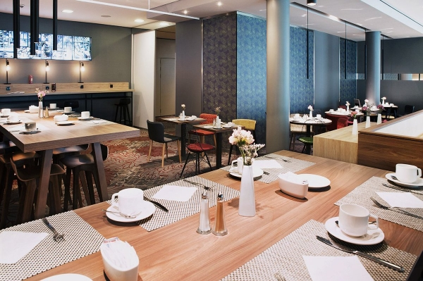 The new  restaurant of Mercure Hotel Berlin